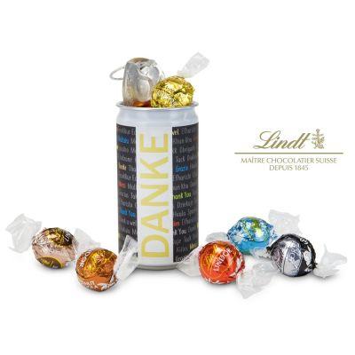 Lindt-Geheimnis Danke - mit individuellem Etikett