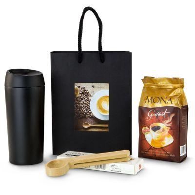Geschenkset Kaffee Deluxe - mit Logogravur