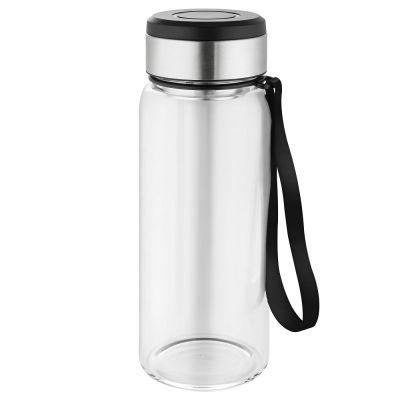 """Wasserflasche mit Thermomanschette """"Generation Refill"""" mit Logo"""