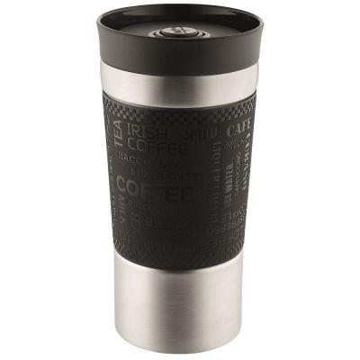 """Vakuumbecher  mit 360° Trinköffnung """"Crema Extensa"""" mit Logogravur"""