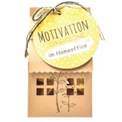 Mini-Motivations-Haus für das Homeoffice