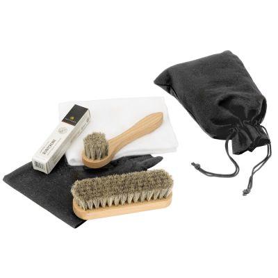 Schuhpflege-Set im exklusiven Beutel individualisierbar