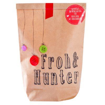 """""""Froh & Munter""""-Wundertüte als Weihnachtsgeschenk - mit Logo"""