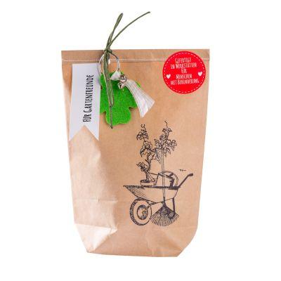 Wundertüte für Gartenfreunde mit Glücksbringer individualisierbar