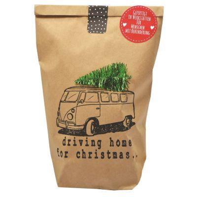 "Wundertüte ""Driving Home for Christmas"" individualisierbar"