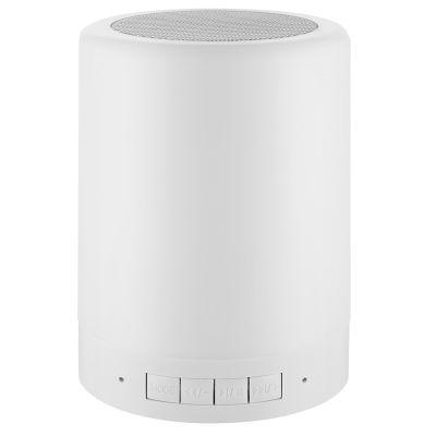 Ambient Bluetooth Lautsprecher mit Lichtfarbwechsel und Logodruck