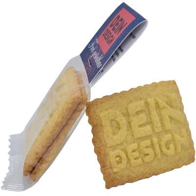 Doppel-Logokeks im eigenen Design - mit Kartonreiter