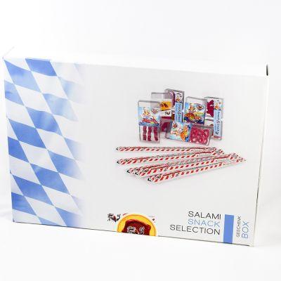 Geschenkbox Snack Seleccion - mit Logo-Aufkleber