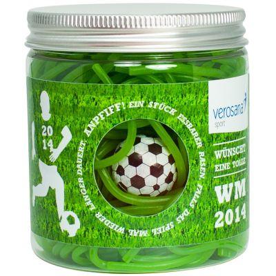 Naschdose essbarer Fußballrasen - mit Individualisierung