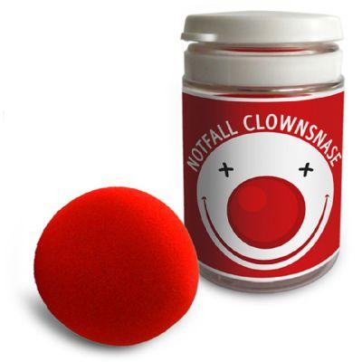 Notfall Clownsnase - Werbeartikel individualisierbar