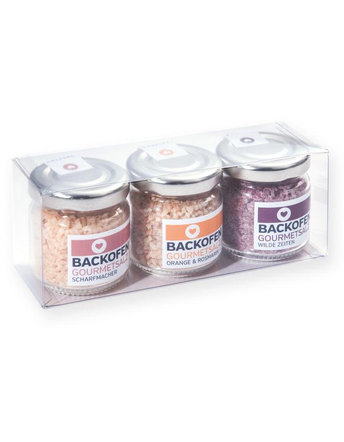 BACKOFEN-Gourmetsalz 3er-Set