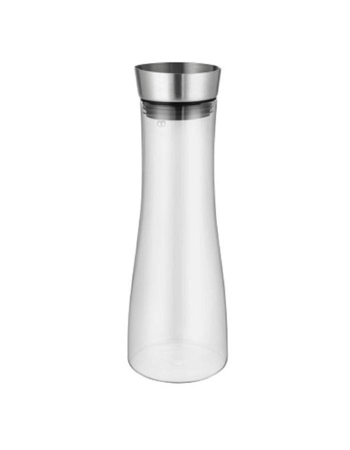 "Glaskaraffe ""LaCaraffe"" - Logogravur Deckel & Druck auf Glas"