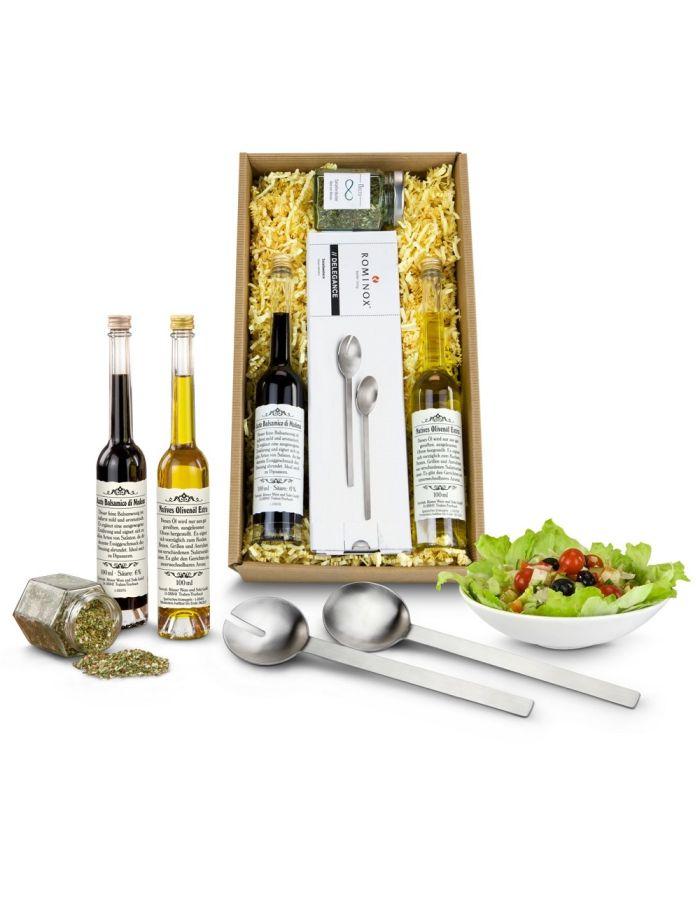 Geschenkset Salat-Duett - mit Logo individualisierbar