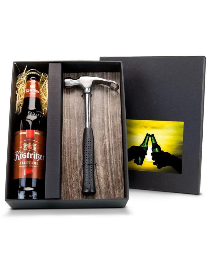 Geschenkset Feierabend-Hammer - mit Individualisierung