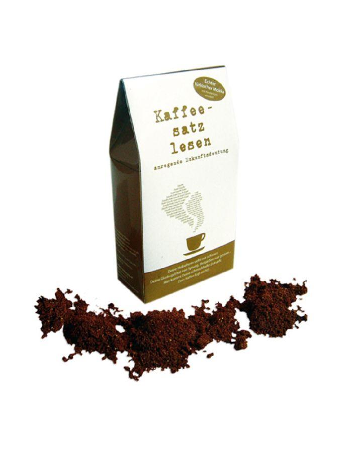 Kaffeesatzlesen - Werbeartikel individuell gestaltbar