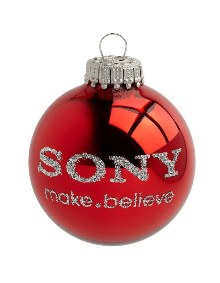 Weihnachtskugeln 6 cm mit Ihrem Firmenlogo individualisiert
