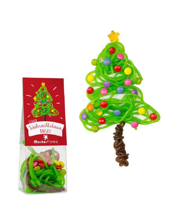 Naschbeutel Essbarer Weihnachtsbaum - individualisierbar