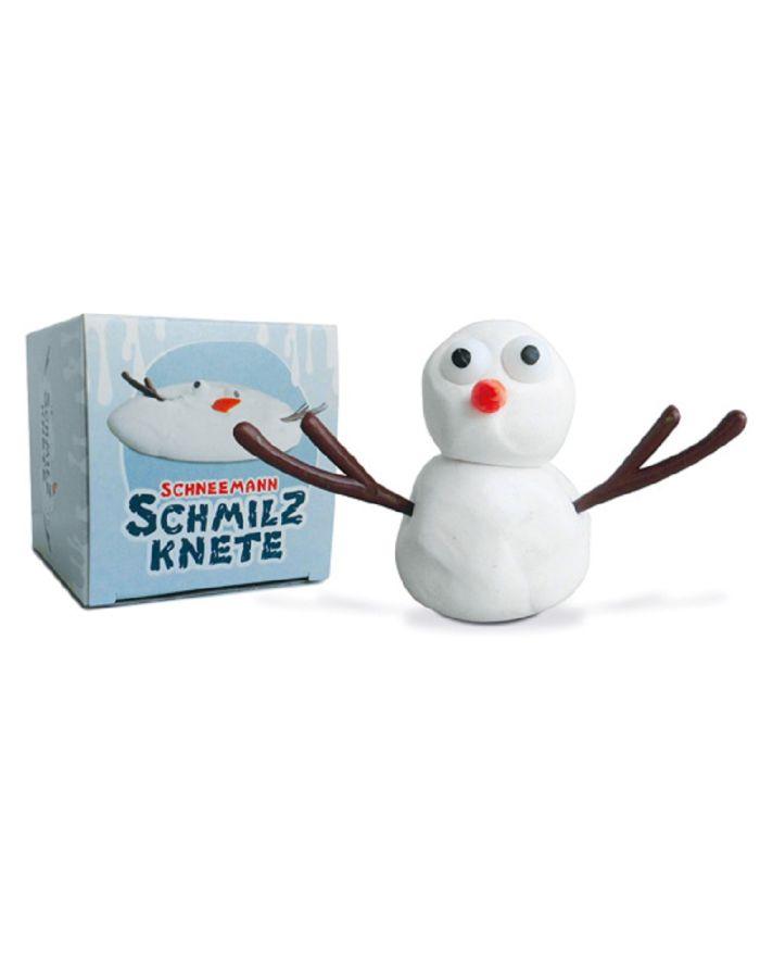 Schneemann Schmilz Knete - Werbeartikel individuell gestaltbar