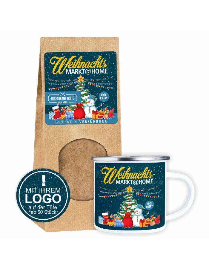 Weihnachtsmarkt@home - Geschenkset mit Logo