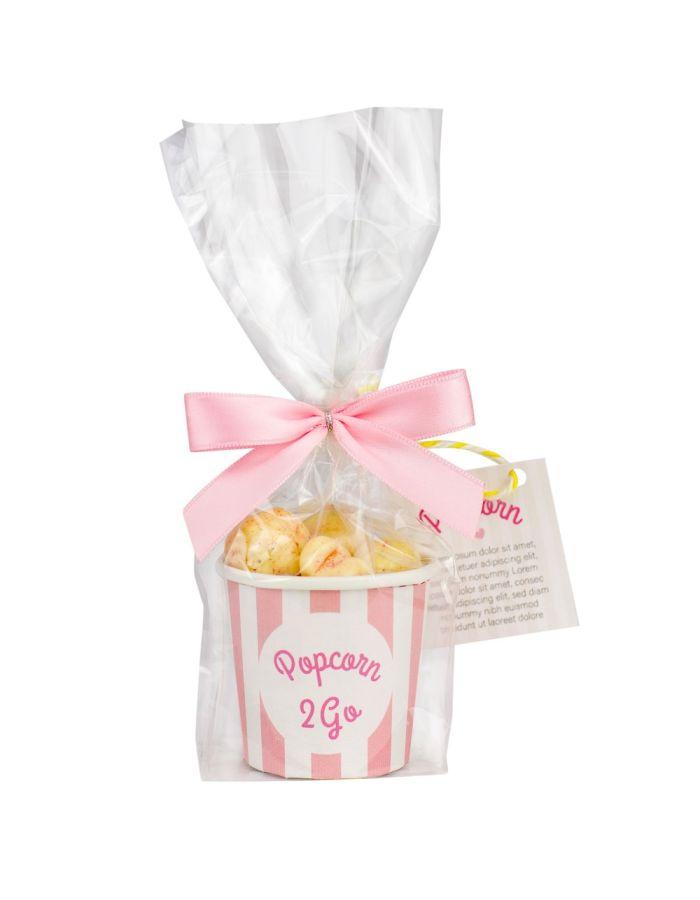 Becher Popcorn to go - mit Individualisierung