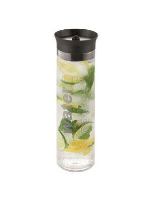 "Wasserkaraffe ""Pure Aqua"" - Logogravur Deckel & Druck auf Glas"