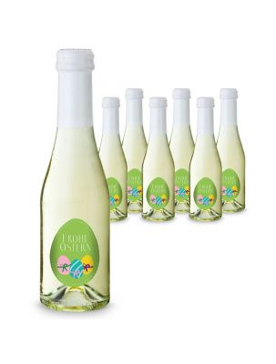 6 x Oster-Piccolo 0,2 l Flasche - individuell gestaltbar