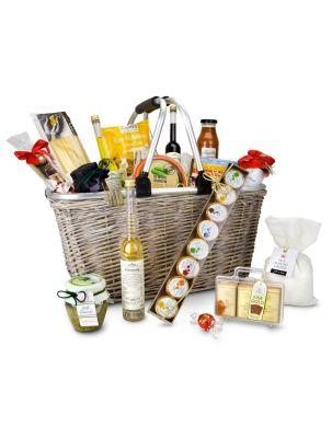Geschenkkorb XL alkoholfrei & vegetarisch - individualisierbar