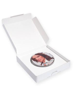 Runde Design-Torte in Mailingbox