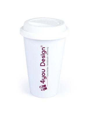 Coffee-to-Go-Becher mit Firmenlogo oder Wunschmotiv
