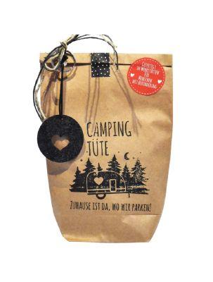 Camping-Wundertüte für Reiselustige mit Logo