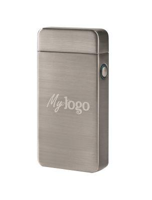 """Lichtbogenfeuerzeug """"Future Pocket Turbo"""" mit Logogravur oder -druck"""