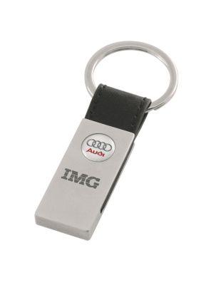 """Schlüsselanhänger """"My Brand"""" mit Logogravur oder -ätzung"""