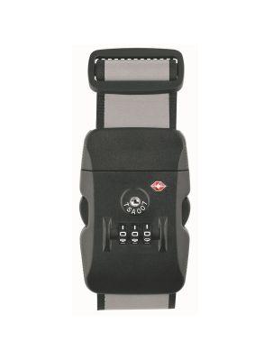 TSA-Koffergurt mit Behördenschlüsselzugang und Logodruck