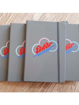Hardcover Notizbuch A5 - Liniert mit Ihrem Firmenlogo