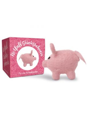 Notfall-Glücksschwein - Werbeartikel individualisierbar