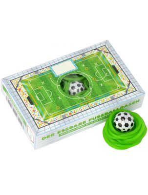 Box Essbarer Fußballrasen - individuell bedruckbar