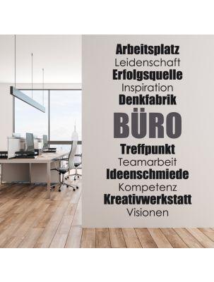 """Wandtattoo """"Büro Motivation"""""""