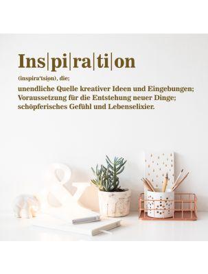 "Wandtattoo ""Inspiration"""